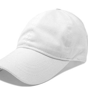 Women's ponytail Hat Women's half visor with adjus